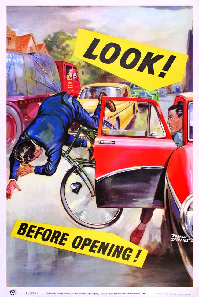 Vintage Road Safety Posters