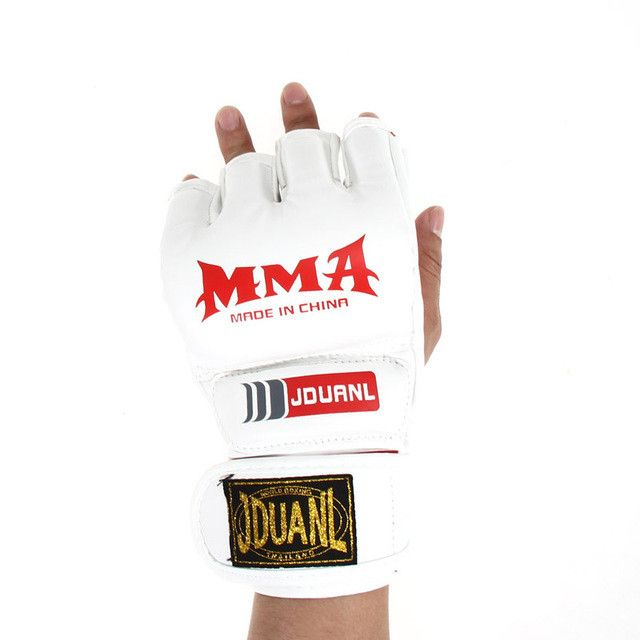 Free shipping MMA Muay Thai Gym Punching Bag Half Mitt Train Sparring Kick Boxing Gloves wholesale H1E1