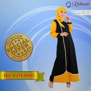 Dress Gamis Rahnem Limited Model RL-04