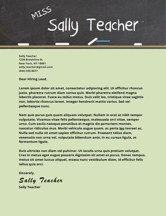 Best 25 Cover letter teacher ideas on