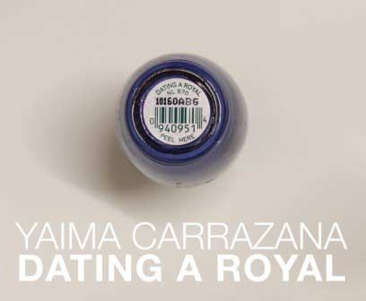 Yaima Carrazana, Dating a Royal
