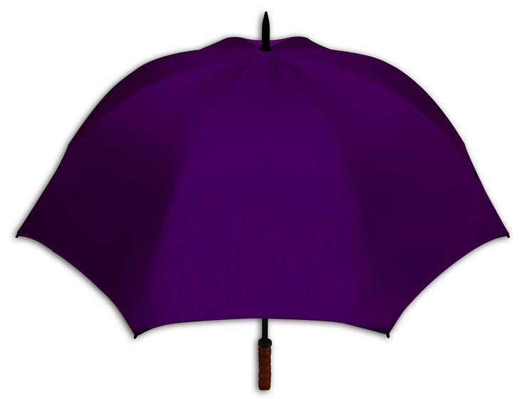 Purple Virginia Golf Umbrella