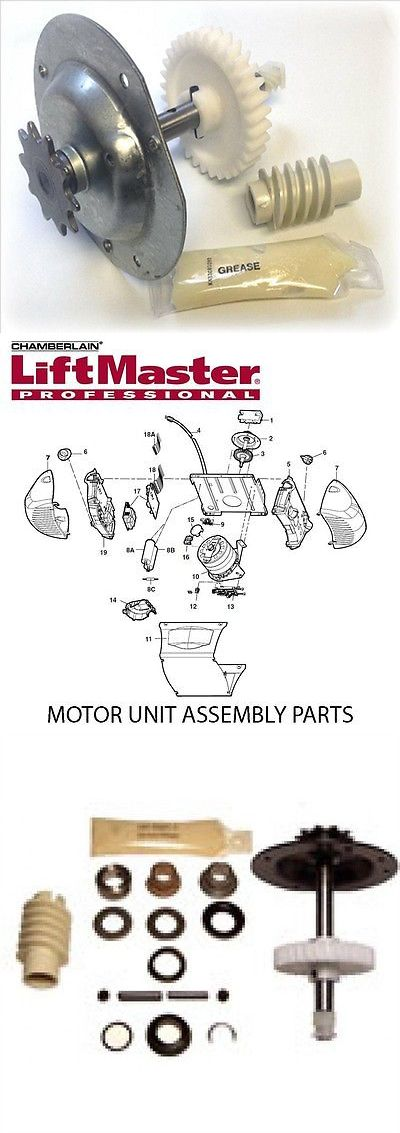 opener parts and accessories liftmaster 41a55851 replacement gear and sprocket assembly garage
