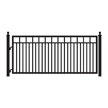 Mighty Mule Single Swing Sanibel Gate 12 Ft W G1612 Kit At Tractor Supply Co Driveway Fence Driveway Gate Wrought Iron Driveway Gates