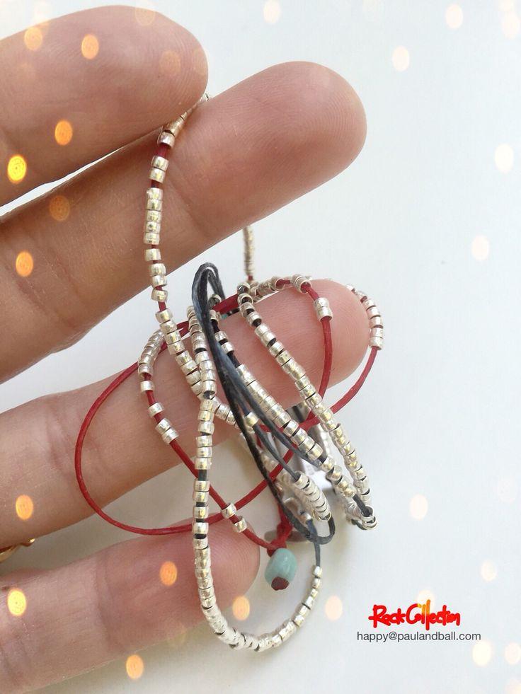 Sterling silver bracelet by paulandball