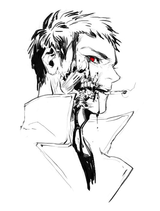 Anime Zombie Characters : Best psychotic dark anime images on pinterest