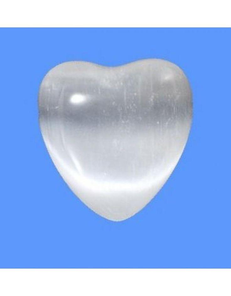 Angel Heart van seleniet (klein)