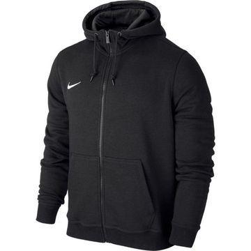 Nike - Hættetrøje Team Club FZ Sort Børn