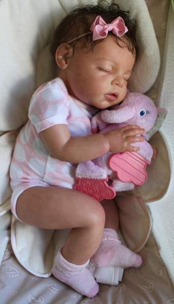 CUSTOM Reborn Newborn Baby Girl Doll Noah by By Reva Schick - Reborn Baby Doll