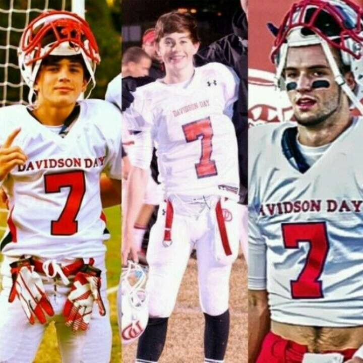 Hayes........nash.....................will grier That #7 doe