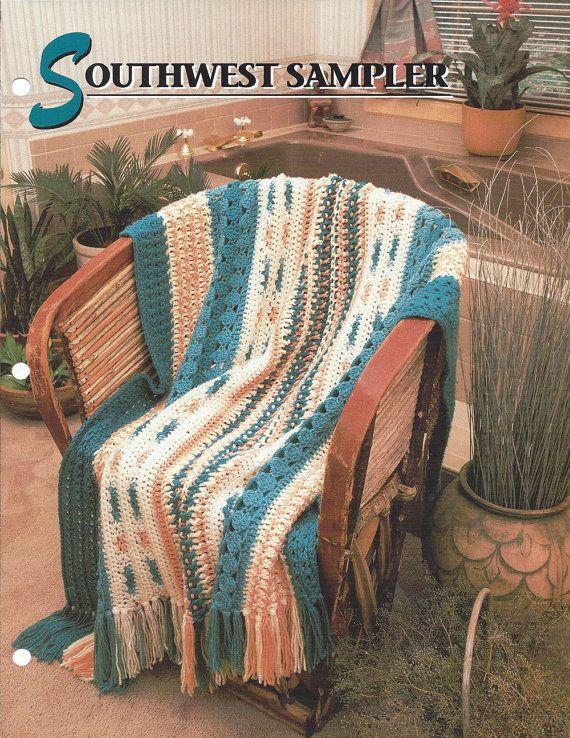Southwest Sampler Annie S Crochet Quilt Amp Afghan