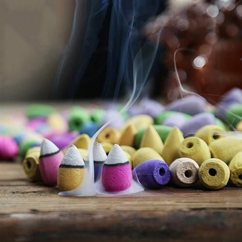 Backflow Incense Cones (50 Pcs)