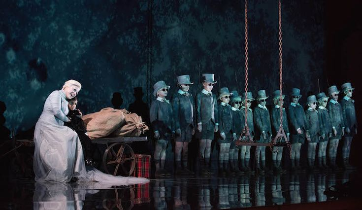 Opera: A Midsummer Night's Dream  Landmark British opera opens the Aldeburgh Festival at Snape Maltings