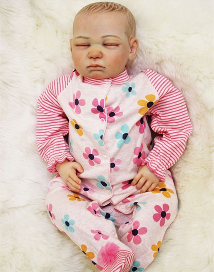 151.23$  Watch here - http://alinw6.worldwells.pw/go.php?t=32757101442 - Lifelike Baby Reborn Doll Real Looking Baby Doll,Vivid Silicone Reborn Dolls 50 cm/20 Inch Kids Toys for Children Free Shipping 151.23$
