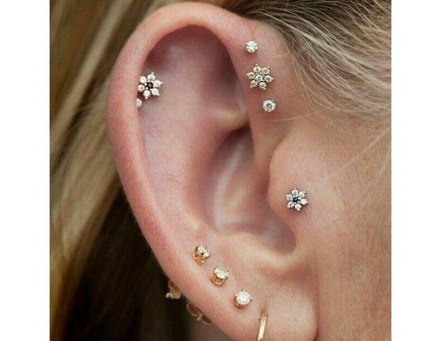 Most Beautiful Piercings - Delicate and flirty.