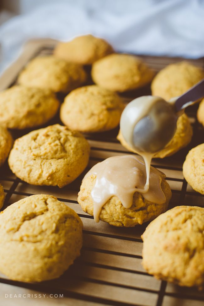 This delicious buttery pumpkin cookies recipe will please any fan of pumpkin cookies. These thick, soft cookies are truly a fall favorite in my home.