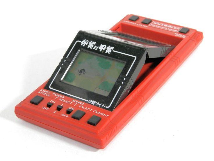 "Bandai LCD Game Double Play Ninja Battle ""Iga vs Koga"" MIJ 1982 Great Condition #Bandai"