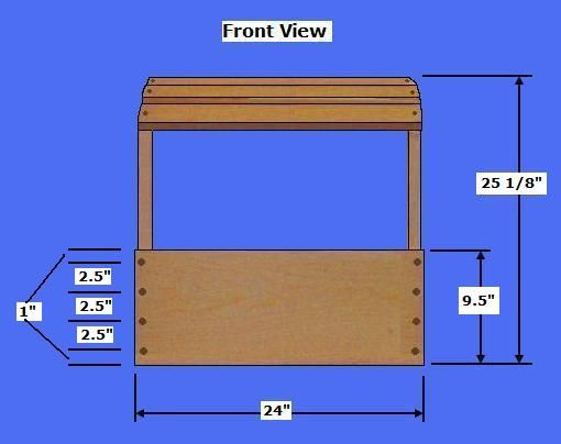 Book Display Stand Building Plans