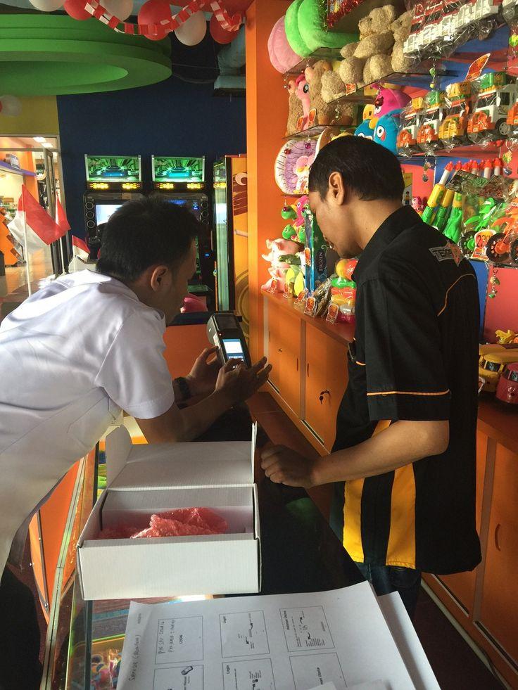 Penyerahan alat E-POS dan Bimtek kepada WP Terrazone Indonesia
