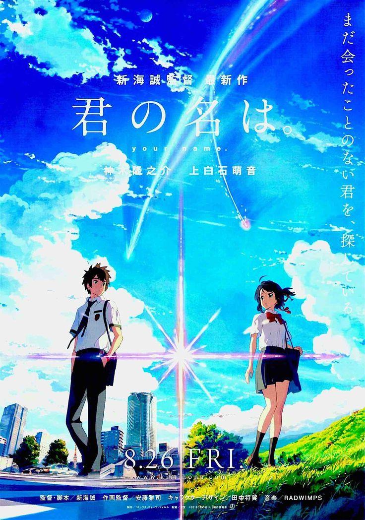 Your Name. (A) Japan Anime, Makoto Shinkai 2016