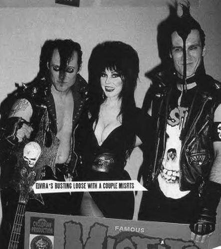Elvira and the Misfits. THIS IS ONE OF MY DAUGHTER'S BANDS