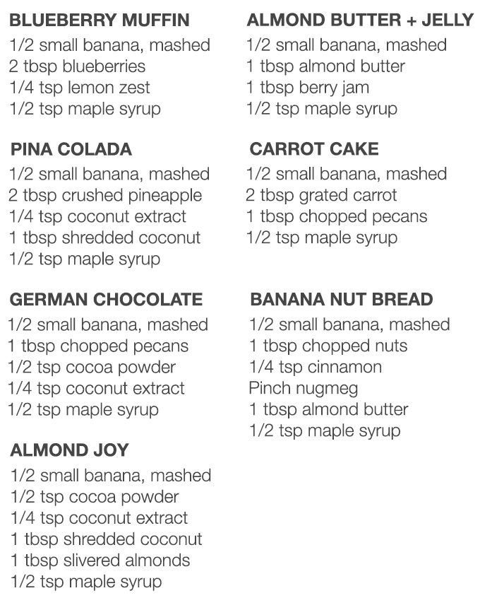 Overnight Oats Seven Ways // Another Root - base is 1/2 cup rolled oats w/ 1/2 cup milk in a jelly jar