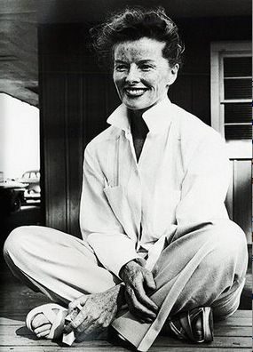 """""""If you want to change attitudes, start with a change in behavior."""" Katharine Hepburn"""