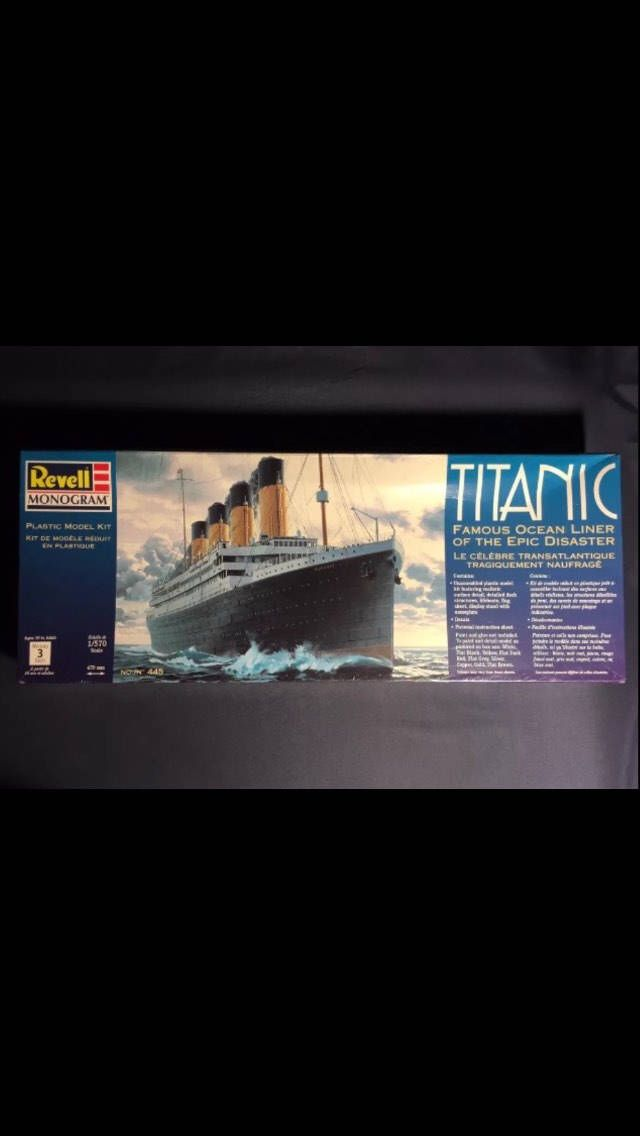 #canadiancollectors revell monogram level 3 titanic model kit $123.98