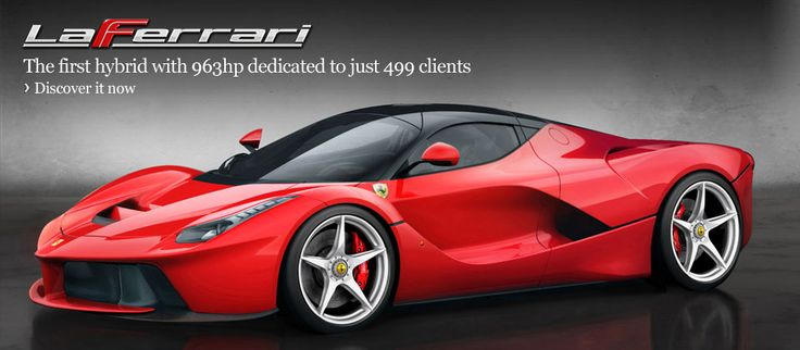 Ferrari - The Italian automotive company's official site