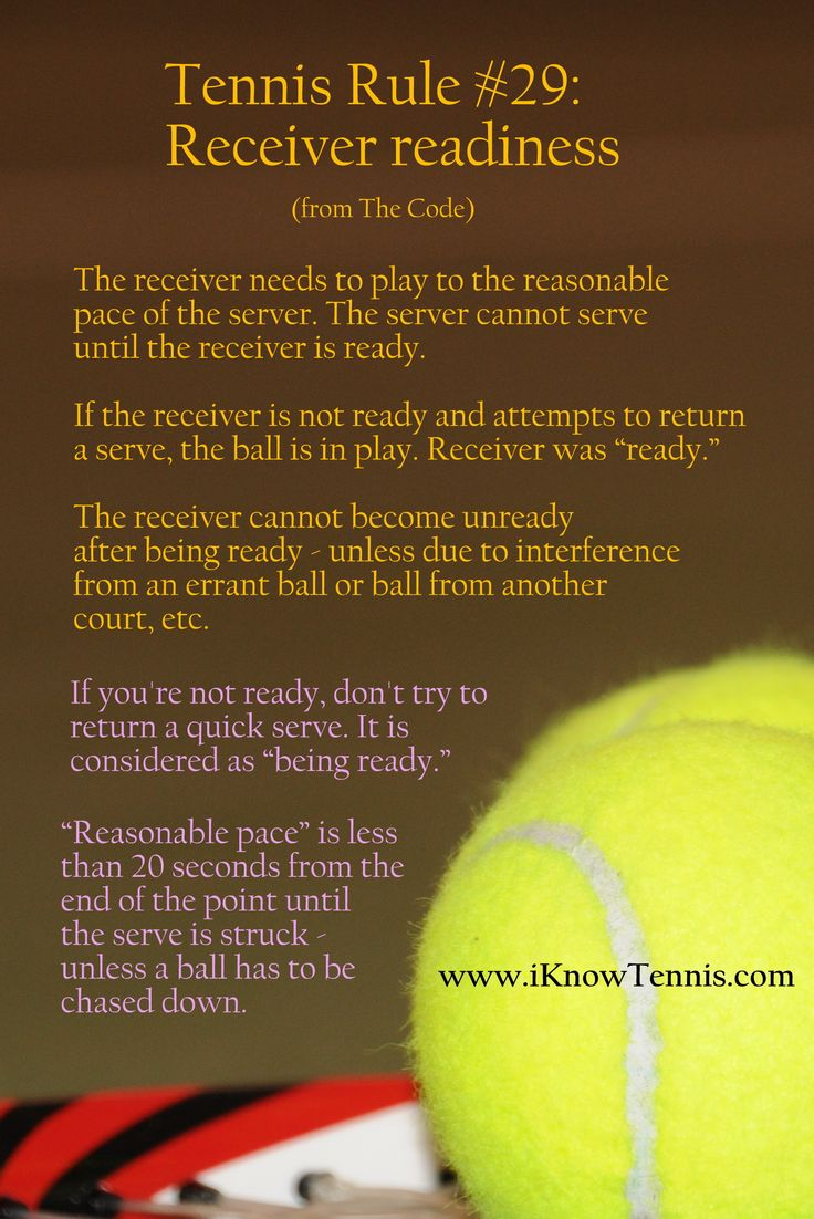 Basic Tennis Rules - Online Tennis Instruction - Learn How ...