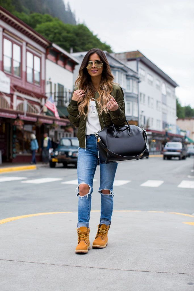 Malgastar vídeo Tierra  100 Outfit Ideas to Wear with Timberland Boots – OUTFIT BRIGHT | Botas  timberland mujer, Ropa de moda, Ropa