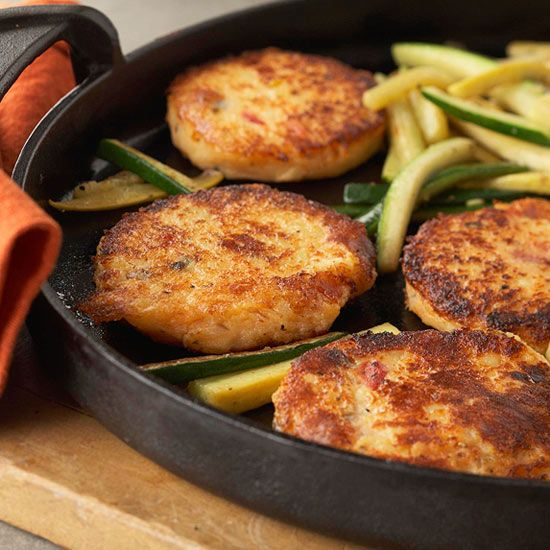 Potato Cakes with Summer Squash from the Better Homes and Gardens Must ...