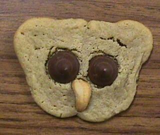 Owl Cookies! How cute!