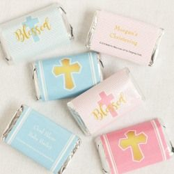 Nothing is sweeter than the star of your religious event, but these chocolate bars come close!