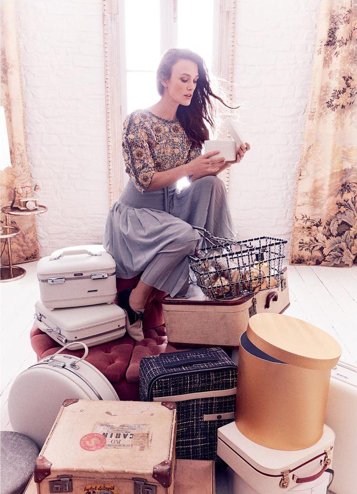 Theatre Icon: Keira Knightley for Harper's Bazaar UK December 2016 | Fashnberry
