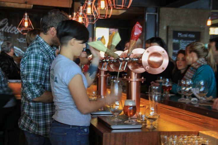 Con una fiesta a toda orquesta la cerveza Patagonia inauguró su local | ANB