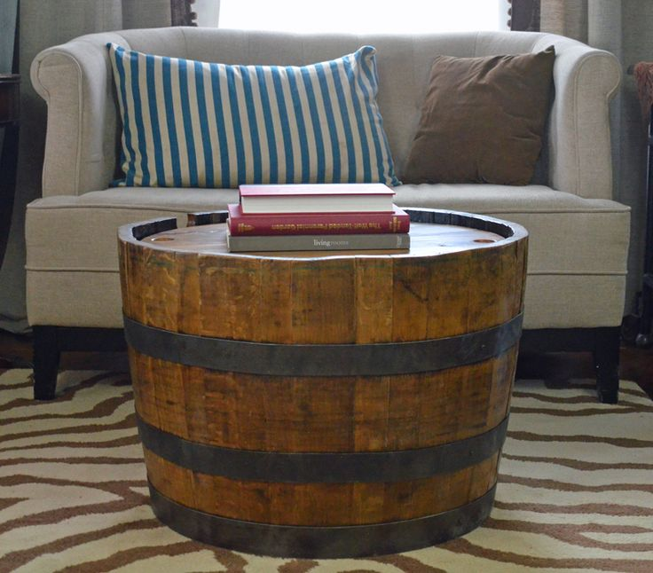 wine barrel table whiskey barrel coffee table
