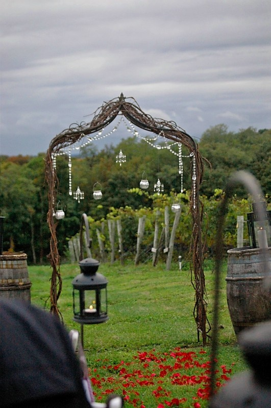 Stunning Wedding Trellis For Sale (made With Natur  $150