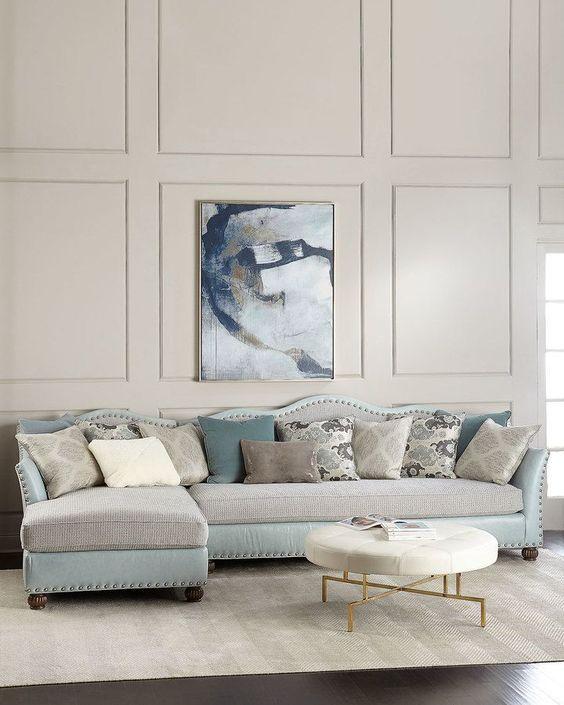 Die besten 25+ kleines zusammensetzbares Sofa Ideen auf Pinterest - ecksofa kleines wohnzimmer