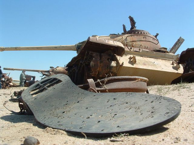 The Infamous Vehicle Graveyard of Iraq's Highway of Death