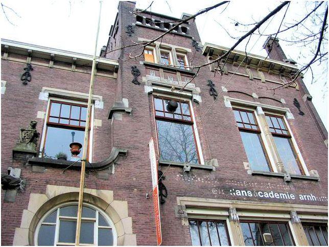 De voormalige dansacademie Arnhem