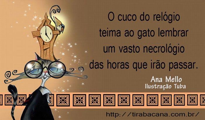 Tira Bacana - quadrinhos, tiras, poemas, minicontos, haicais, poetrix - literatura e ilustração - Ana Mello
