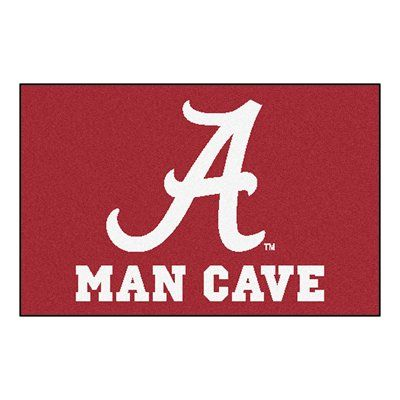 Fanmats 14524 University Of Alabama Man Cave Starter