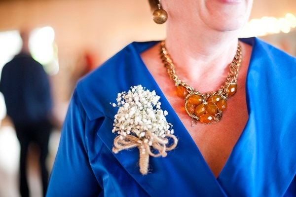 Wrist corsage alternative for Mother of the Bride