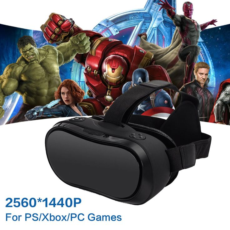 VR Box 3D Google Virtual PC Glasses Headset All In One VR For PS 4 Xbox 360/One 2 K HDMI Nibiru Android 5.1 Screen 2560*1440 P //Price: $164.92 & FREE Shipping //     #VR