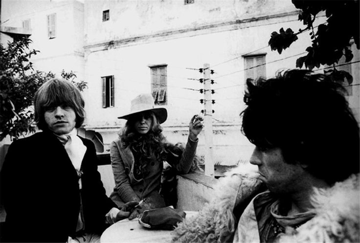 Morrison Hotel Gallery | Michael Cooper  Brian Jones, Anita Pallenberg & Keith Richards in Morocco.