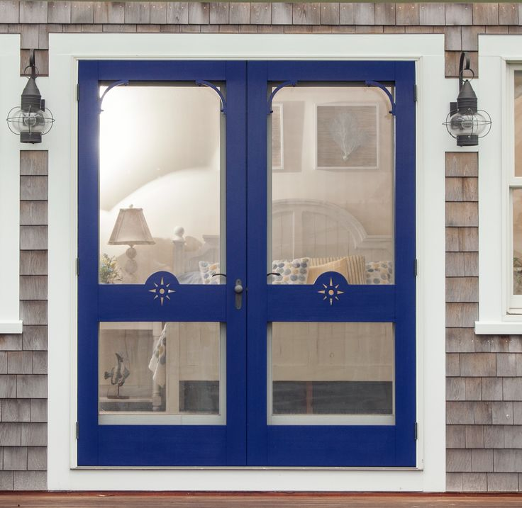 1000 ideas about double storm doors on pinterest storm for Double door screen door