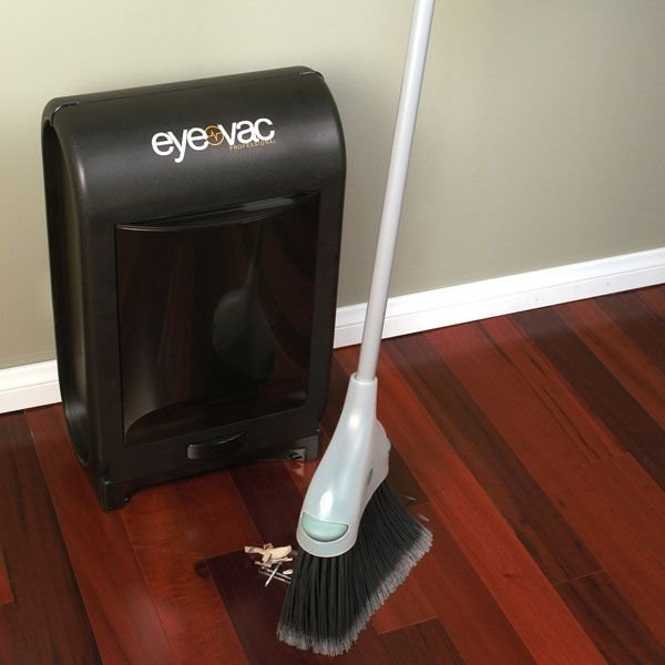 (GOODBYE BENDING)Eye-Vac Pro Electric dustpan. Sweep the crumbs in the general direction of the Eye-Vac and it will suck up trash.