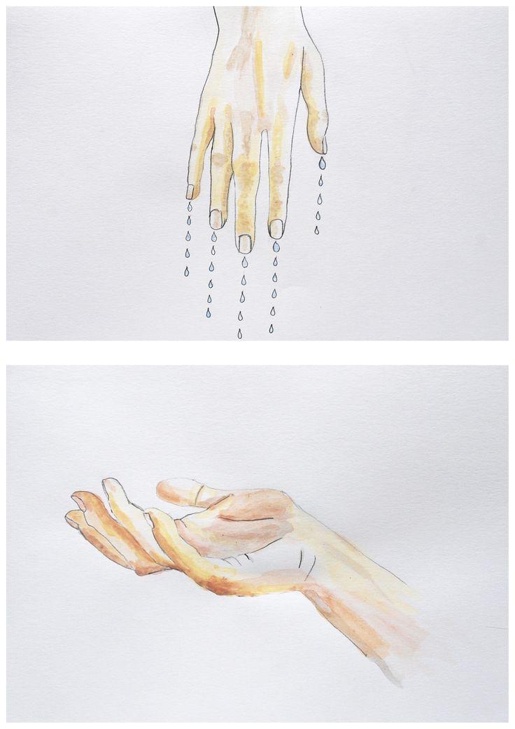 Hand 1 and 2. Eli Kjønsberg