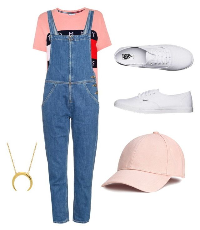 """""""S"""" by saryr on Polyvore featuring mode, Tommy Hilfiger, M.i.h Jeans et Vans"""